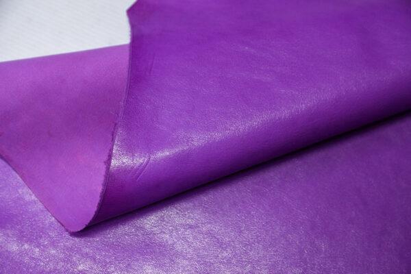 Кожа козы, светло фиолетовая, 30 дм2, Russo di Casandrino S.p.A.-110621