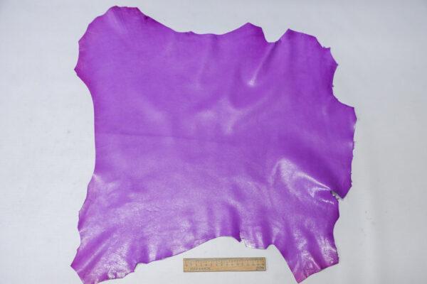 Кожа козы, светло фиолетовая, 29 дм2, Russo di Casandrino S.p.A.-110623