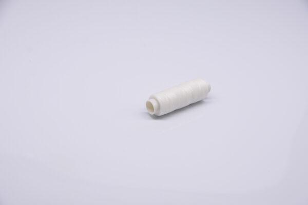 """Нить """"GALACES"""" вощеная круглая 0,35 мм. Белая-s000"""