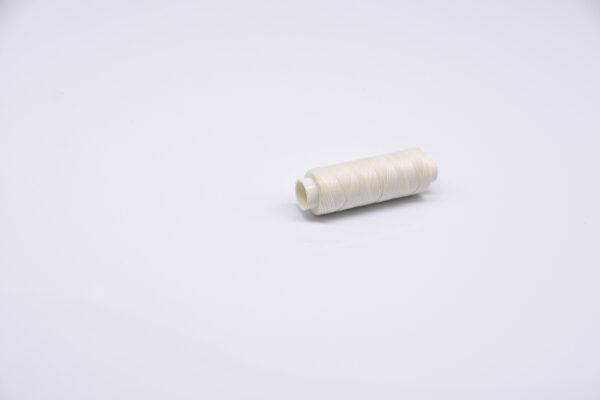 """Нить """"GALACES"""" вощеная круглая 0,35 мм. Молочная-s002"""
