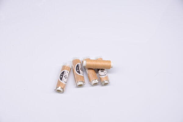 """Нить """"GALACES"""" вощеная круглая 0,35 мм. Кремовая-s005"""