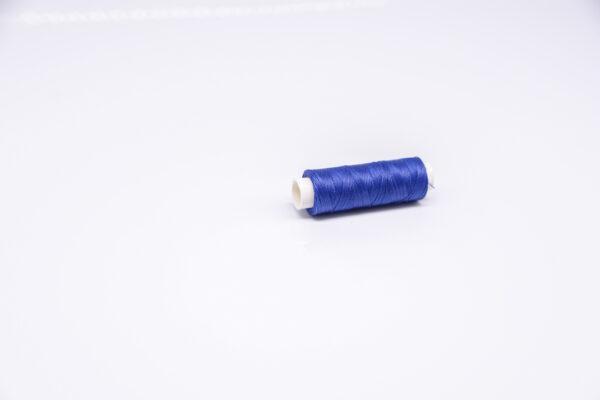 """Нить """"GALACES"""" вощеная круглая 0,35 мм. Ярко-синяя-s037"""
