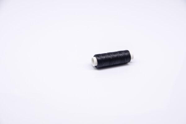 """Нитка """"GALACES"""" воскована кругла 0,35 мм. Чорна-s999"""