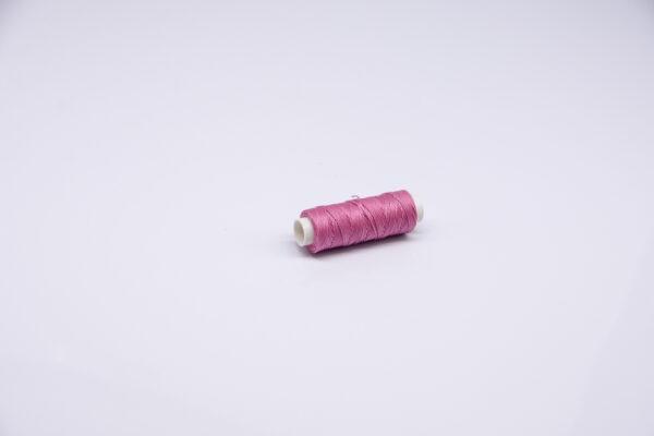 """Нитка """"GALACES"""" воскована кругла 0,55 мм. Бузкова-s046"""