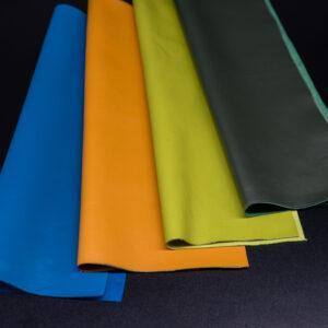 Набор из 4 кусочков тёмно-зелёной, синей, жёлтой, салатовой, А4-Набор 2-3