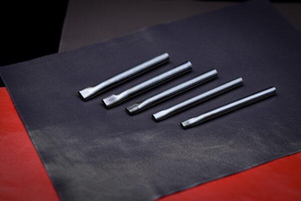 Набор пробойников под овальное отверстие 5 шт - 4 мм.*10,9,8,7,6 мм-1149-2
