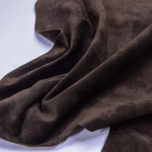 Замша КРС, коричневая, 48 дм2.-110704
