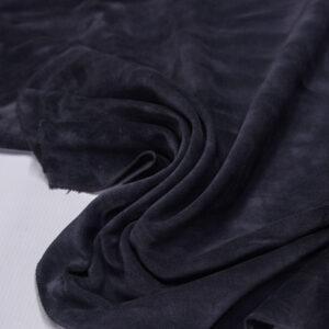 Замша КРС, серо-голубая, 66 дм2.-110707