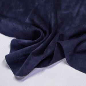 Замша КРС, синяя, 40 дм2.-110710