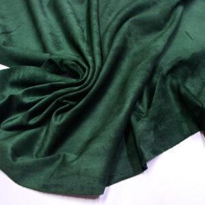 Замша-велюр КРС, зеленая, 95 дм2.-110734
