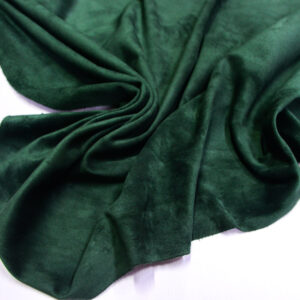 Замша-велюр КРС, зеленая, 141 дм2.-110735