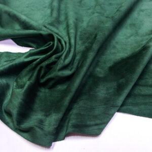 Замша-велюр КРС, зеленая, 95 дм2.-110736