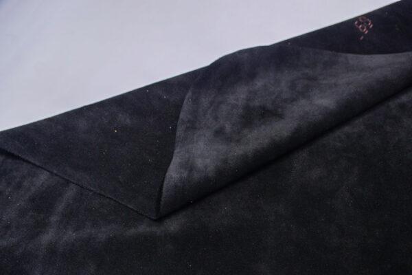 Замша КРС, черная, 68 дм2.-110737