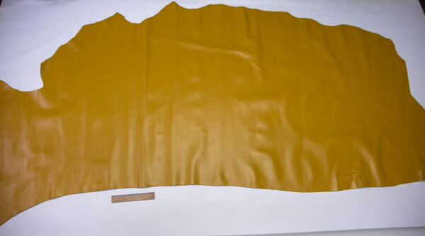 Кожа КРС, горчичная, 158 дм2.- D1-744