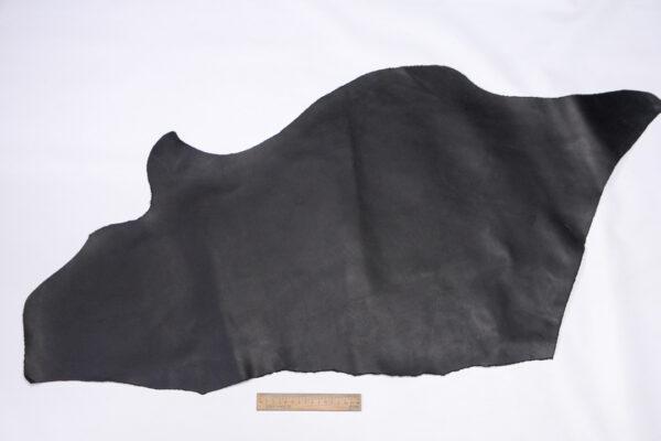 Кожа КРС, краст, черный, 43 дм2.-110792